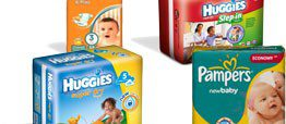 Destockage couche pampers